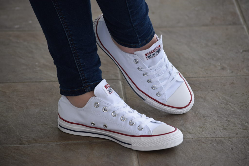 CONVERSE ALL STAR M7652C Ox Optic White Bassa Bianca 7652 m7652 3J256C CONVERSE ALL STAR M7652C Ox Optic White Bassa Bianca 7652 m7652 3J256 Sneakers