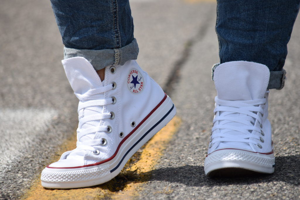 Converse All Star M7650C Alta Bianca