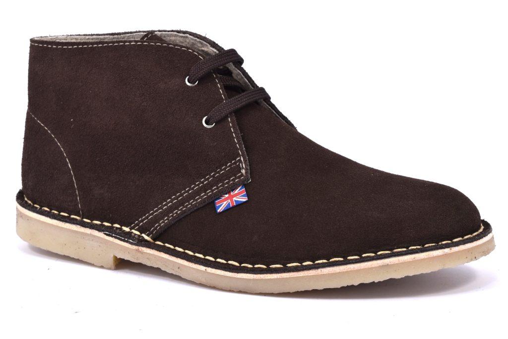 SAFARI NATURAL 5887 Marrone scarpe, polacchine modello clark