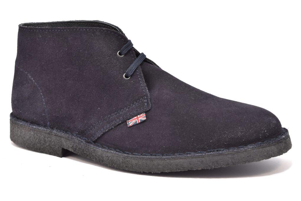 SAFARI NATURAL 87000 Marino scarpe, polacchine uomo modello clark
