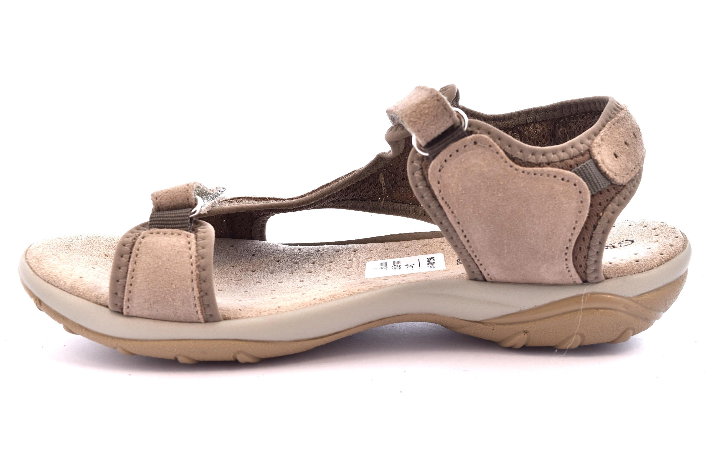 ... GRUNLAND OLLY SA1585 75 BEIGE TERRA scarpe sandali donna sportivi  strappo f88411e438f
