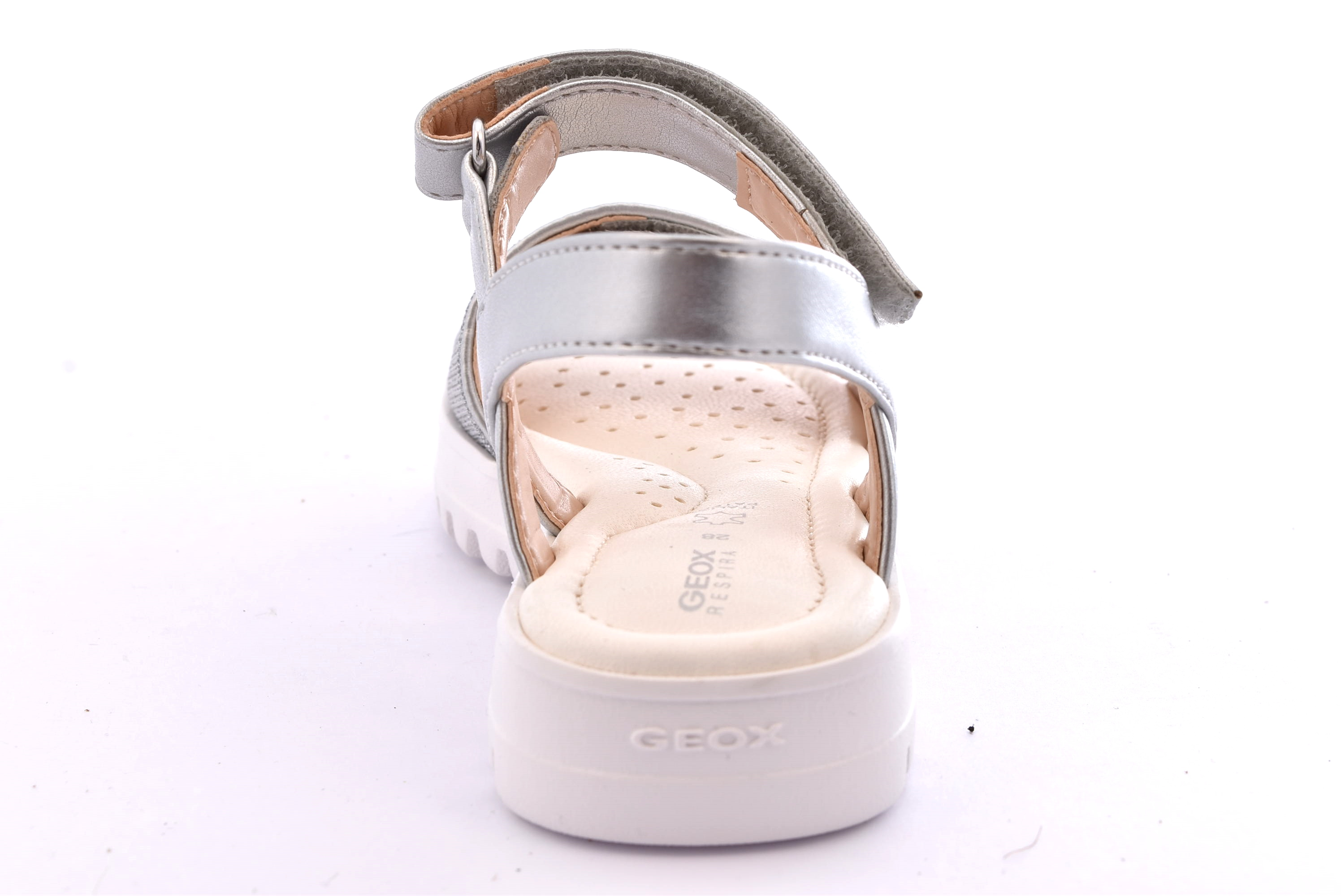 GEOX J826EG 0EWNF C1007 CORALIE ARGENTO | shoesmyfriends.it