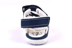 PRIMIGI 1360100 NAVY blu scarpe sandali bambino strappi