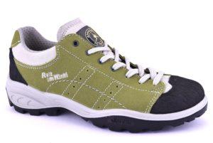 REIT IM WINKL 12129S25 VERDE scarpe trekking basse donna camoscio vera pelle stringhe vibram