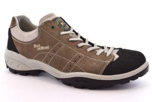REIT IM WINKL 12129S22 TORBA fango tortora scarpe trekking basse uomo camoscio vera pelle stringhe vibram