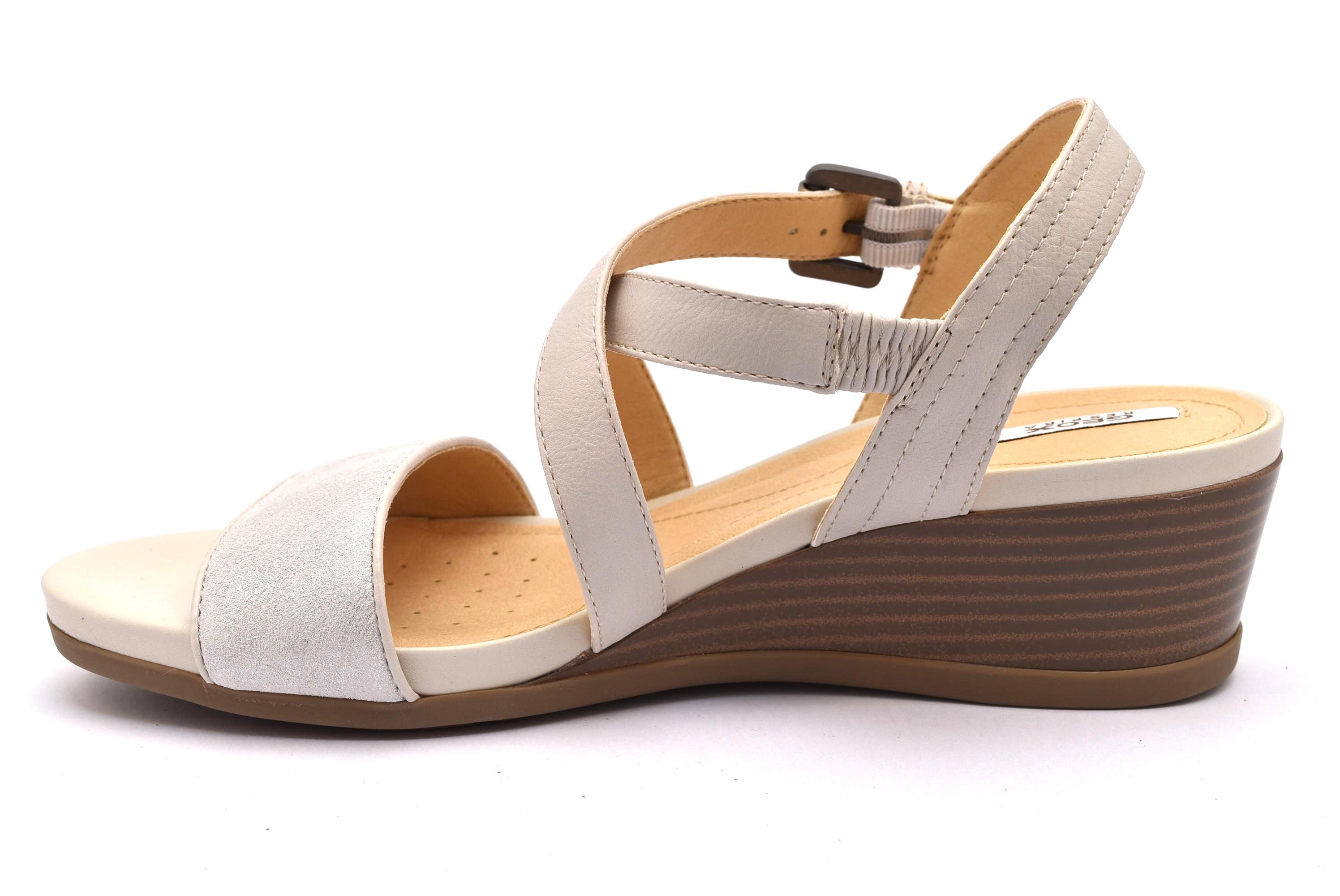 GEOX D828QA 05477 C1002 sandali donna zeppa   shoesmyfriends.it