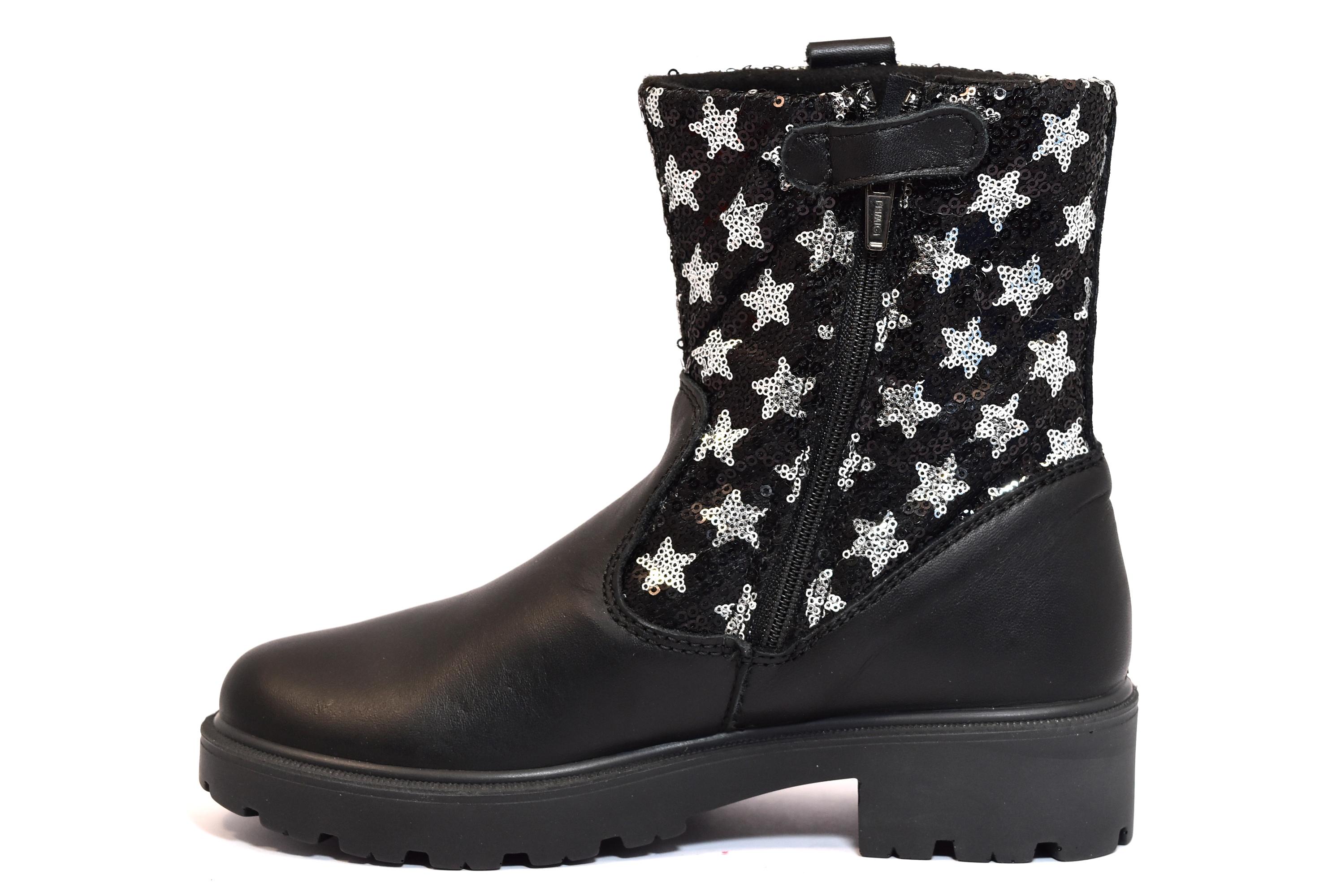 Sneakers 2018 saldi qualità autentica PRIMIGI 86065 00 NERO