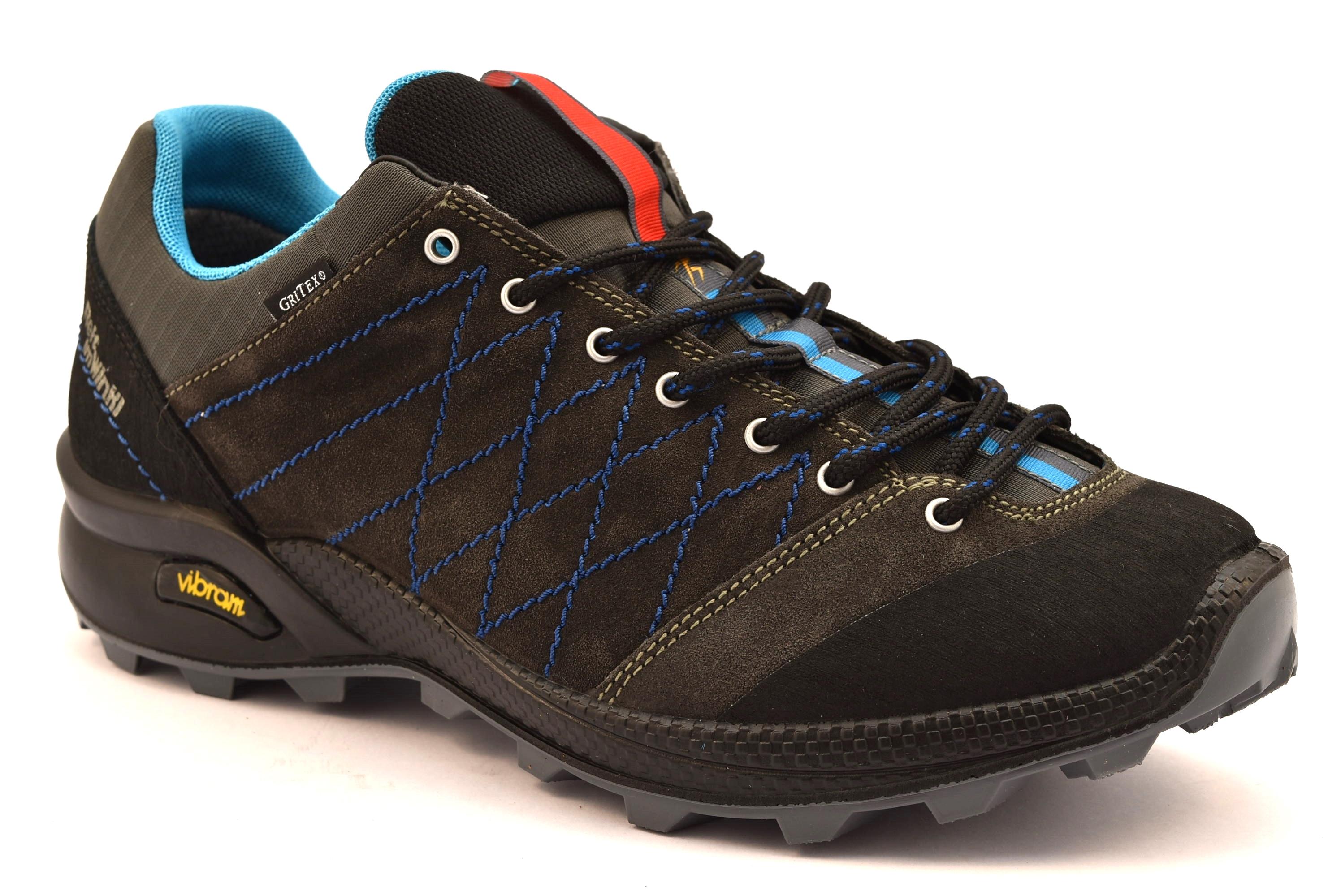 negozio ufficiale marchi riconosciuti vendita calda REIT IM WINKL 13133V12G NERO scarpe basse trekking uomo ...
