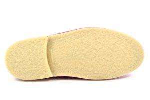 SAFARI NATURAL 1887 SERRAJE MAGENTA rosa scarpe clark desert boot polacchine donna stringate scarponcini pedule camoscio vera pelle