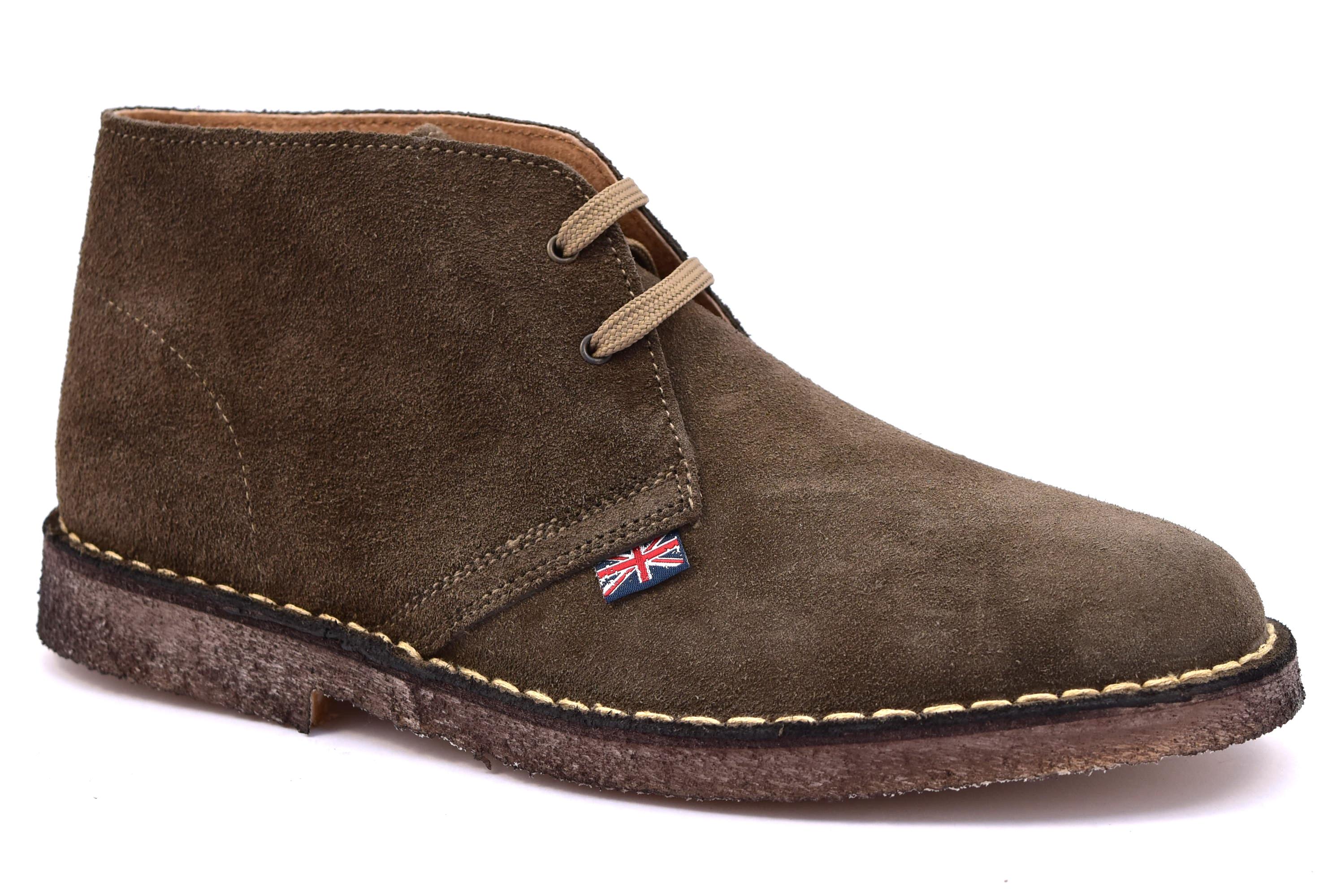 ... SAFARI NATURAL 87000 CARIBU marrone fango scarpe clark desert boot polacchine  uomo stringate scarponcini pedule camoscio ... 81dd271eaa0