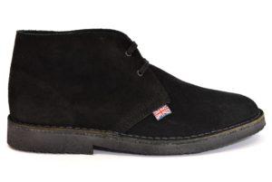 SAFARI NATURAL 87000 nero scarpe clark desert boot polacchine uomo stringate scarponcini pedule camoscio vera pelle