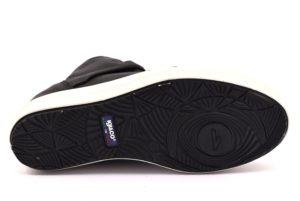 IGI&CO 2156700 NERO Sneakers Alte Scarpe Polacco Zeppa Interna Invernale Donna Stivalino Stivale Tacchi autunno inverno 2018 19 fiocco