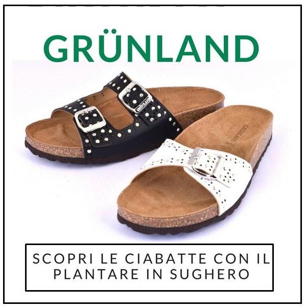 scopri la collezione Grunland Sara Donna, ciabatte estive con plantare anatomico in sughero