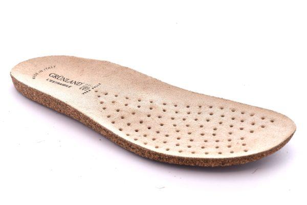 GRUNLAND XX0813 Ricambio Plantare Estraibile Sughero Ciabatte Pantofole Donna Soletta Sottopiede Lino Esta Dara Ines