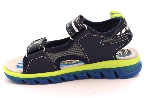 PRIMIGI 1458611 NAVY blu scarpe sandali bambino strappi