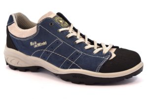 REIT IM WINKL 12129S6 BLU scarpe trekking basse uomo camoscio vera pelle stringhe vibram