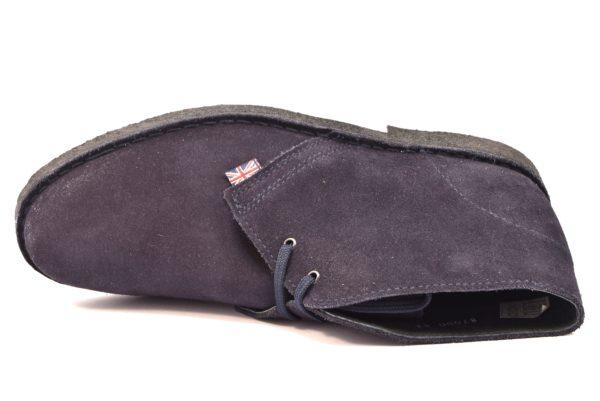SAFARI NATURAL 87000 MARINO blu scarpe clark desert boot polacchine uomo stringate scarponcini pedule camoscio vera pelle