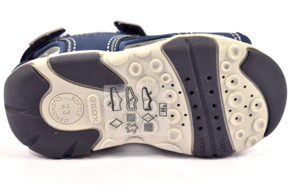 GEOX B721AF 05015 C4226 AGASIM BLU navy royal scarpe sandali bambino tallone chiuso strappi durabuk plantare