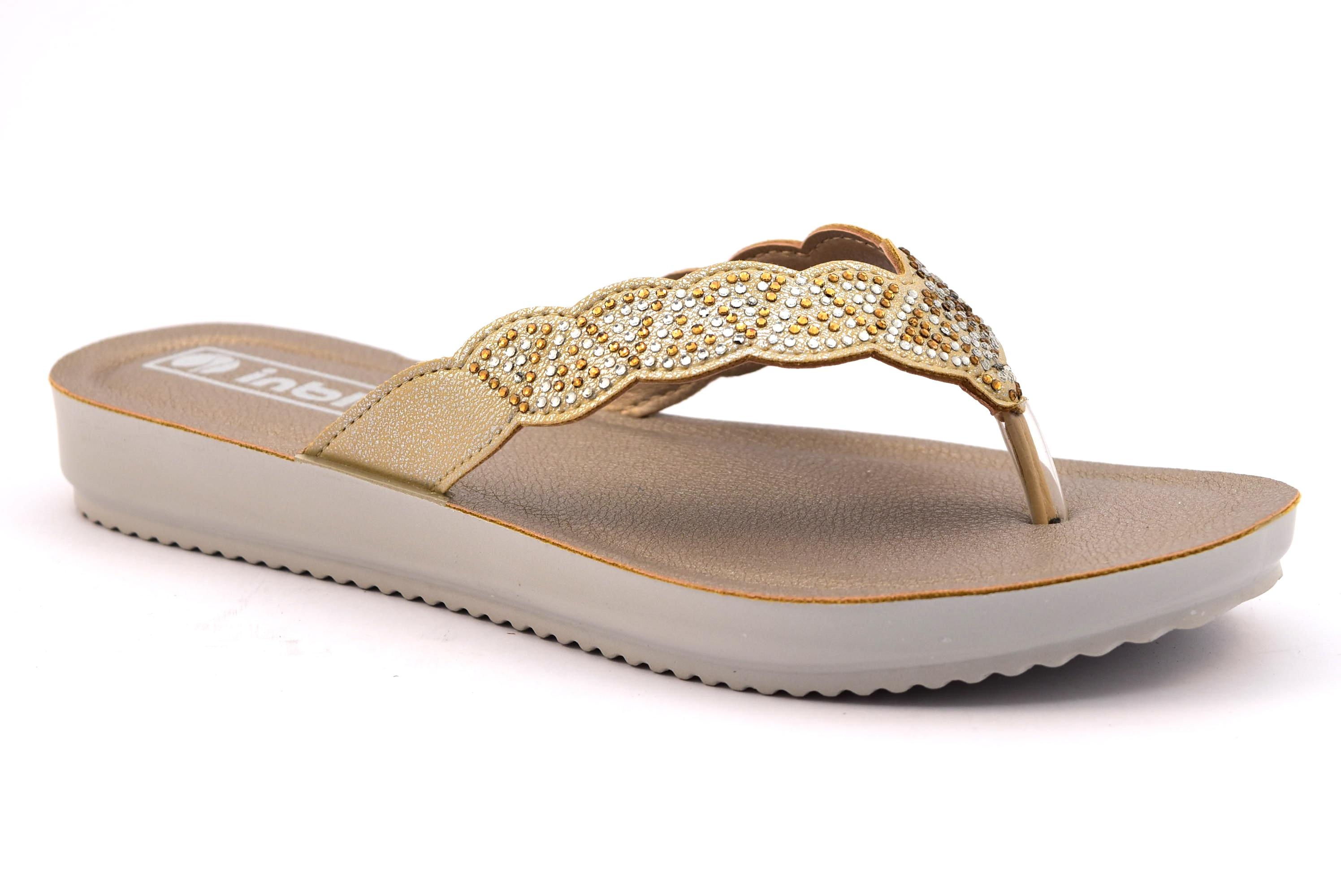 andare online scarpe originali scarpe autunnali INBLU BM000029 SABBIA ciabatte infradito donna mare estive ...