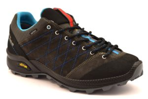 REIT IM WINKL 13133V12G NERO scarpe trekking basse uomo sneakers camoscio vera pelle
