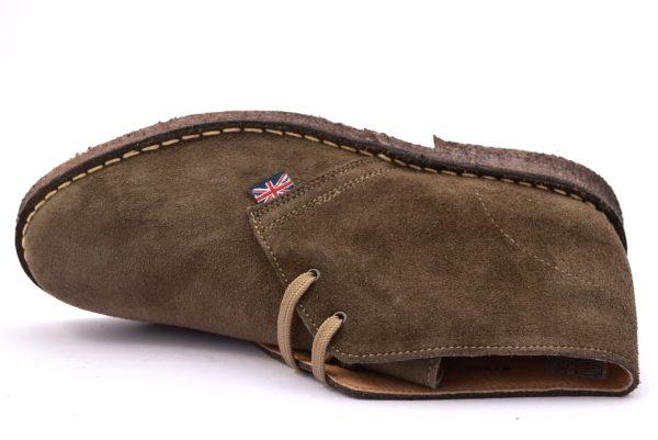 SAFARI NATURAL 87000 CARIBU marrone fango scarpe clark desert boot polacchine uomo stringate scarponcini pedule camoscio vera pelle