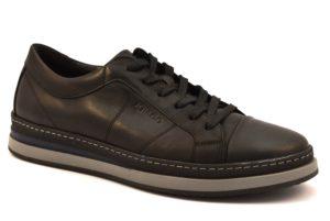 IGIeCO 2133900 NERO Sneaker Stringate basse Lacci Scarpe Casual Ufficio Invernali Uomo Collezione autunno inverno 2018 19