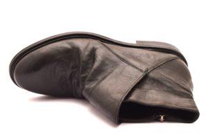 DIVINE FOLLIE 36724 TERRY NERO stivali stivaletti polacchine cerniera scarponcini moda donna collezione autunno inverno 2018 19