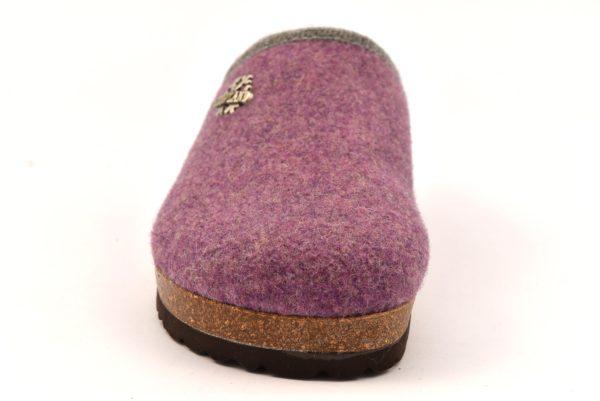 GRUNLAND SARA CB0169 11 ERICA MERINOS ciabatte pantofole tirolesi in lana cotta invernali calde comode ciabatta pantofola tirolese in feltro per la casa e camera merinos donna