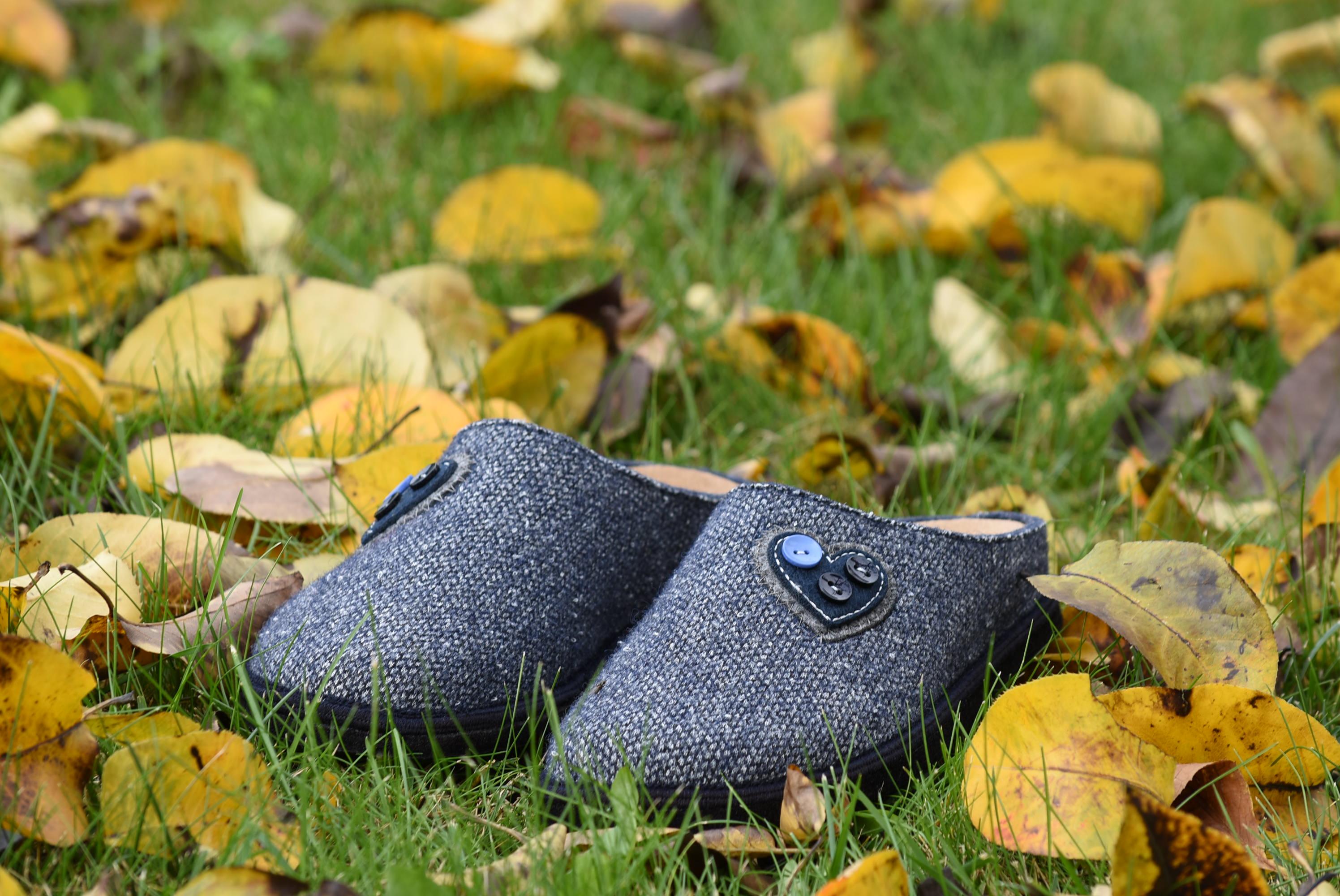 GRUNLAND SIGE CI1476 H6 BLU Lana Cotta Ciabatte Pantofole Donna Tirolesi Inverno collezione autunno inverno 2018 19