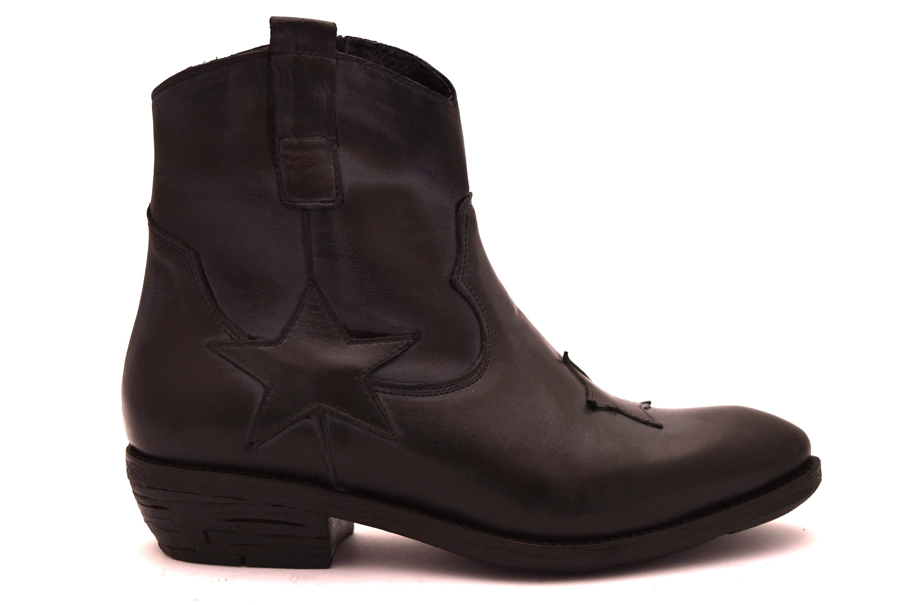 PAOLA FIRENZE STELLA B NERO Texani donna   shoesmyfriends.it