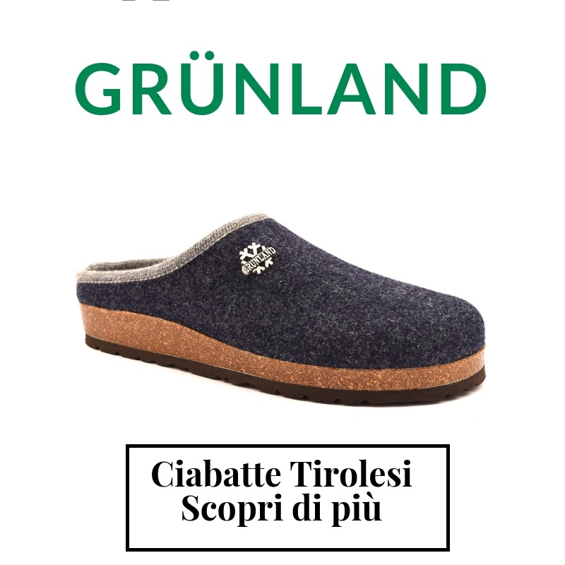 Scopri le ciabatte Tirolesi della Grunland
