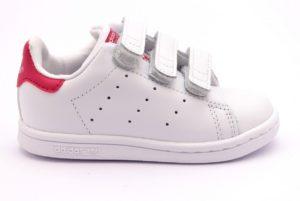 ADIDAS STAN SMITH BZ0523 bianco scarpe sneakers bambina collezione primavera estate strappi scarpe da ginnastica 2018 19