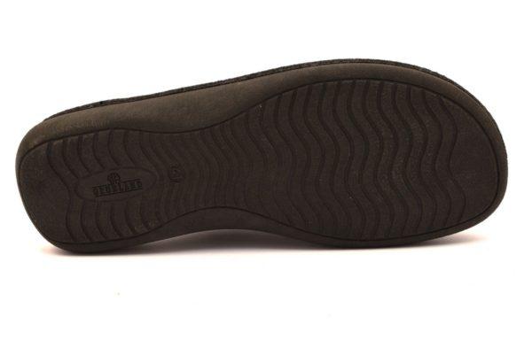 GRUNLAND ENEA CI1387 47 GRIGIO Ciabatte Pantofole Uomo Invernali Panno Chiuse Calde Autunno inverno 2018 19
