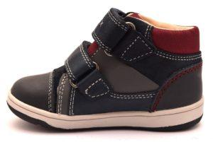 GEOX B841LB B N FLICK B. C0661 BLU Scarponcino Sneakers Polacco Strappo Scarpe Bambino Invernale Autunno Inverno 2018 19 Polacchine Polacchino