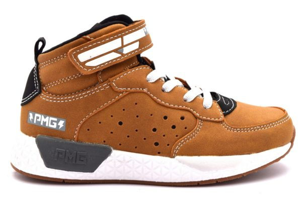 PRIMIGI 2452900 GIALLONE Scarponcino Sneakers Polacco Strappo Scarpe Bambino Invernale Autunno Inverno 2018 19 Polacchine Polacchino