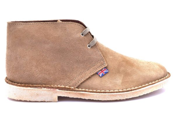 SAFARI NATURAL 1887 SERRAJE TAN scarpe polacchine scarponcini clark desert boot collezione autunno inverno primavera estate