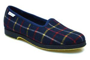 SUPERGA 3329 PALU 580 Pantofola in panno invernale classica quadri collezzione autunno inverno babbuccia slip on mocassino casa camera calde