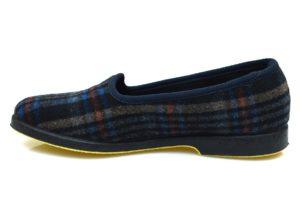 SUPERGA 3329 PANU 590 Pantofola in panno invernale classica quadri collezzione autunno inverno babbuccia slip on mocassino casa camera calde