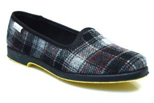 SUPERGA 3329 VALLES 3 Pantofola in panno invernale classica quadri collezzione autunno inverno babbuccia slip on mocassino casa camera calde