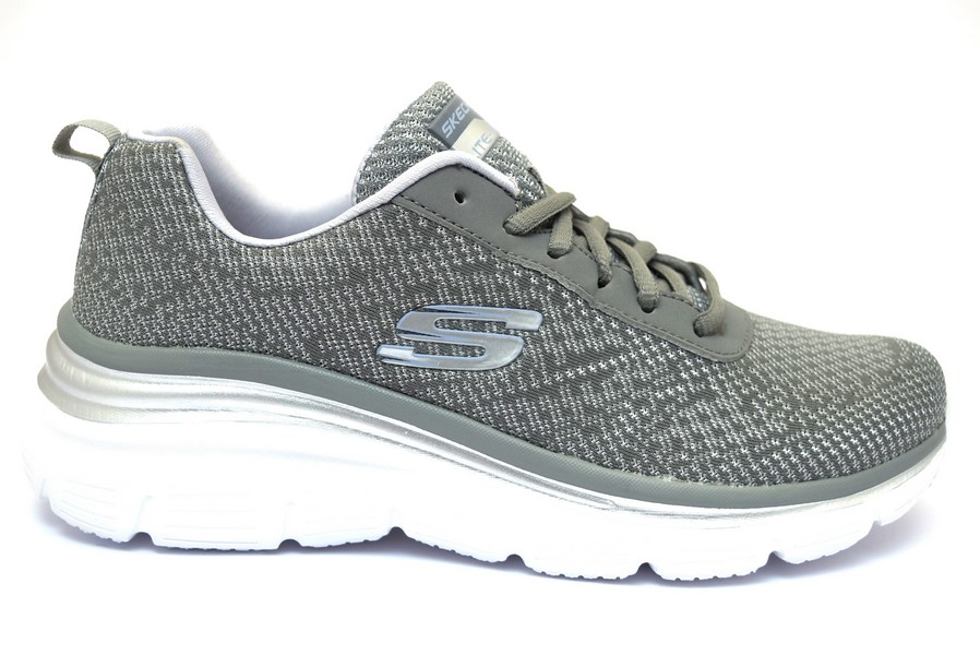SKECHERS 12719 GYLV GRIGIO | shoesmyfriends.it