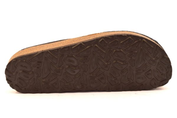 bio alpes 976 antracite ciabatte tirolesi in pura lana cotta merinos made in italy collezione autunno inverno
