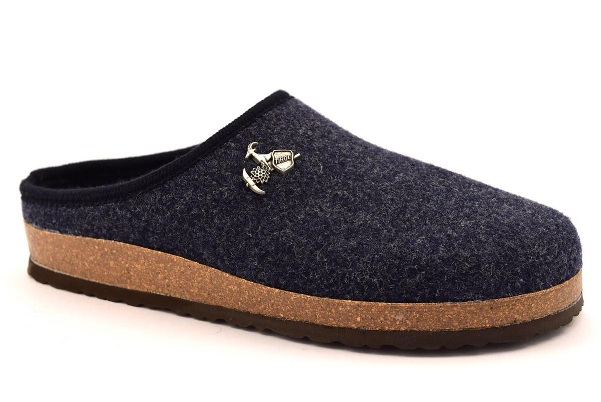 bio alpes 976 jeans ciabatte tirolesi in pura lana cotta merinos made in italy collezione autunno inverno