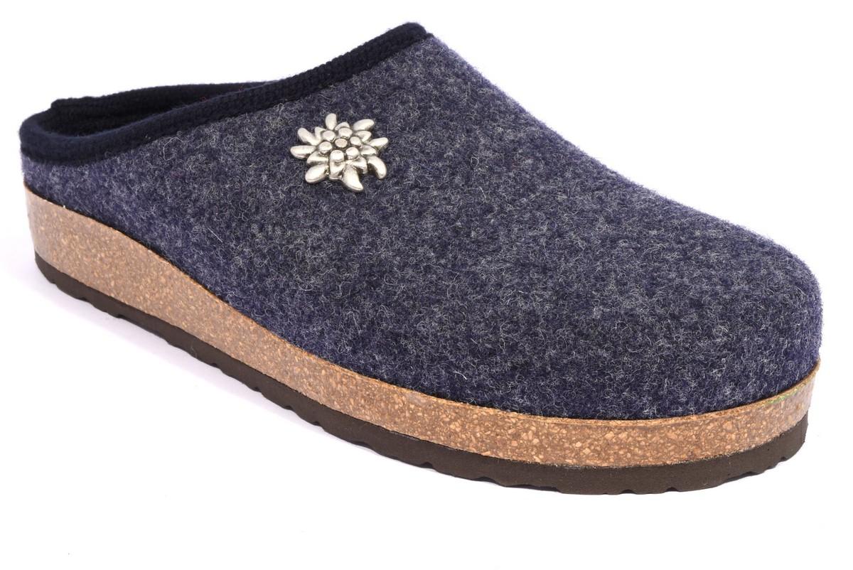 bio alpes 977 jeans ciabatte tirolesi in pura lana cotta merinos made in italy collezione autunno inverno donna