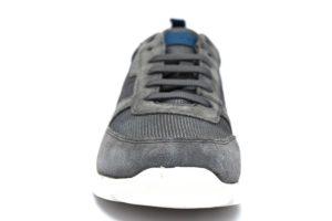 Dettagli su GEOX U920HA 02214 C9004 DAMIAN GRIGIO Sneakers Scarpe Uomo Estive Tessuto Casual
