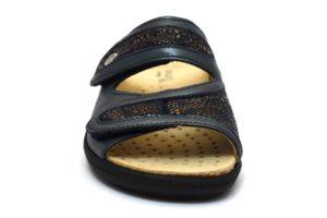 GRUNLAND ESTA CE0646 68 ciabatte pantofole donna estive plantare estraibile sottopiede in sughero chiusura a strappo