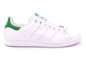 Dettagli su ADIDAS M20324 STAN SMITH BIANCO VERDE Scarpe Sneaker Pelle Stringate Uomo Lacci