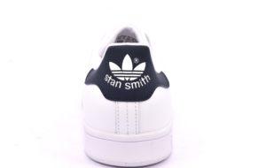 ADIDAS M20325 STAN SMITH BIANCO BLU scarpe sneakers unisex vera pelle
