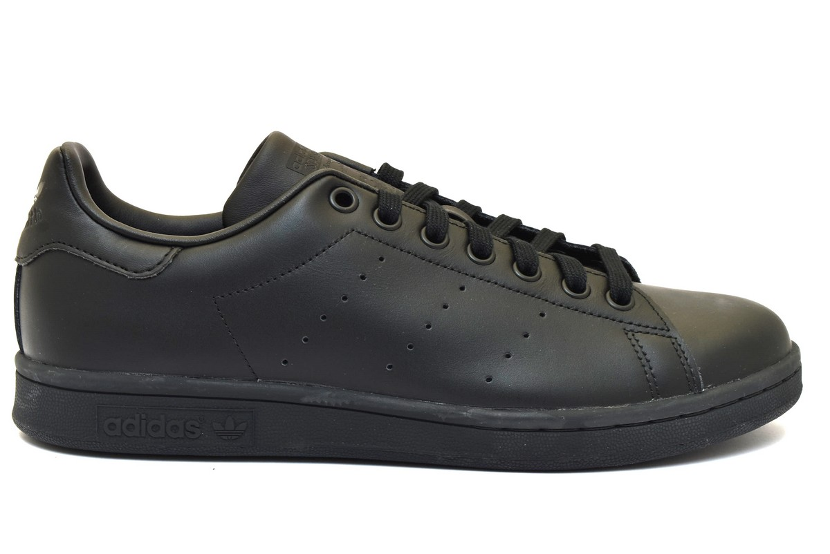 save off cb0b1 384bb ... sweden adidas m20327 stan smith nero sneaker uomo donna unisex scarpe  da ginnastica primavera estate c3641