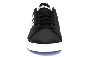 ADIDAS VS ADVANTAGE F99254 NERO Bianco scarpe sneakers unisex vera pelle collezione primavera estate