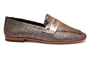 CAFENOIR IEG231 PEWTER GRIGIO EG231 mocassino donna grigio argento collezione primavera estate